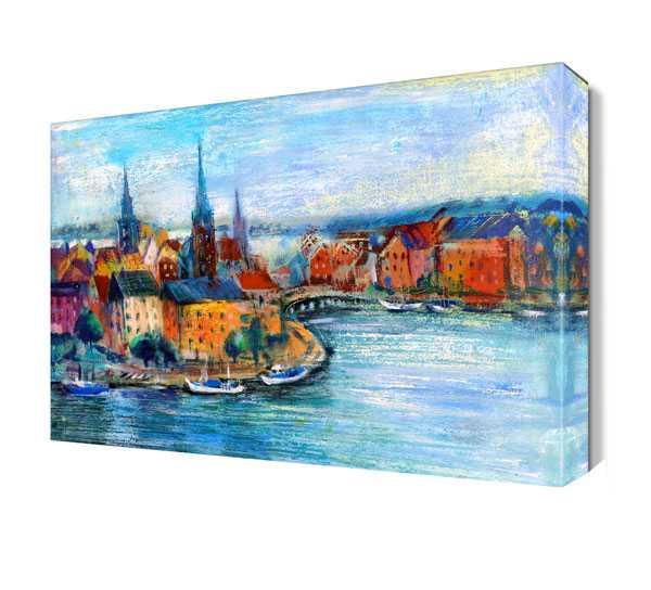 Büyük nehir ve şehir tablosu