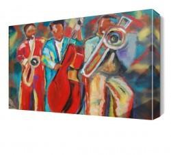 Dekorsevgisi - Orkestra Canvas Tablo (1)