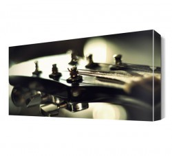 Dekorsevgisi - Gitar Akord Canvas Tablo (1)