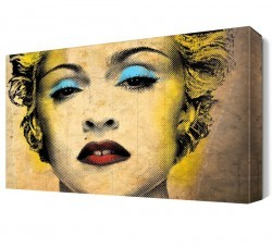 Dekorsevgisi - Madonna Pop Art Canvas Tablo (1)