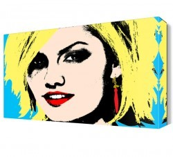 Dekorsevgisi - Elisha Pop Art Canvas Tablo (1)