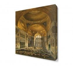 Dekorsevgisi - Ayasofya Cami İçi Canvas Tablo (1)