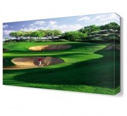 Dekorsevgisi - Golf Sahası Canvas Tablo (1)