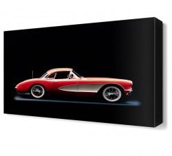 Dekorsevgisi - Chevrolet Corvette Canvas Tablo (1)