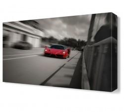 Dekorsevgisi - Ferrari2 Canvas Tablo (1)
