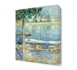 Dekorsevgisi - He Seine at Saint Cloud Canvas Tablo (1)
