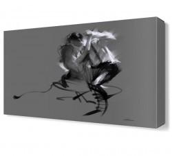 Dekorsevgisi - Dans Canvas Tablo (1)