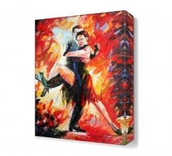 Dekorsevgisi - Ateşli Dans2 Canvas Tablo (1)