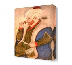 Dekorsevgisi - Fatih Sultan Mehmet Canvas Tablo (1)