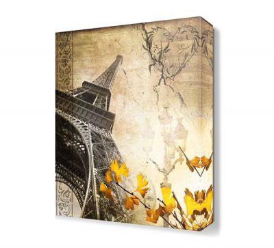 Dekoratif Eyfel Kulesi Tablosu