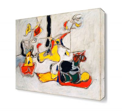 Arshile Gorky Soyut2 Canvas Tablo