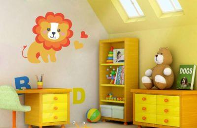 Çocuk Odası Aslan Sticker