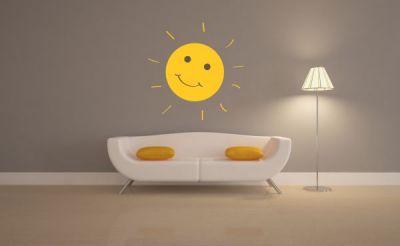 Güneş Duvar Sticker
