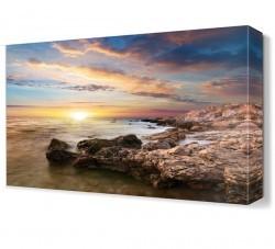 Dekorsevgisi - Deniz Manzarası Canvas Tablo (1)