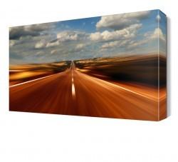 Dekorsevgisi - Hızlı Yol Canvas Tablo (1)