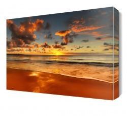 Dekorsevgisi - Güneşin Batışı Canvas Tablo (1)