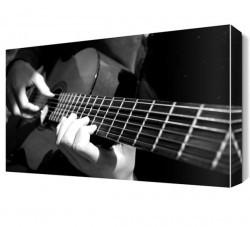 Dekorsevgisi - Gitar Solo Canvas Tablo (1)