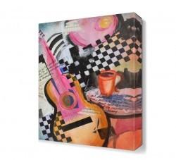 Dekorsevgisi - Jazz Cafe Canvas Tablo (1)