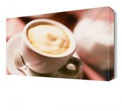 Dekorsevgisi - Kremalı Kahve Canvas Tablo (1)