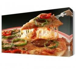 Dekorsevgisi - Pizza Dilimi Canvas Tablo (1)