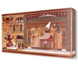 Dekorsevgisi - Mısır Resim Canvas Tablo (1)