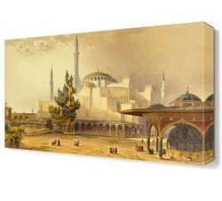 Dekorsevgisi - Ayasofya13 Canvas Tablo (1)