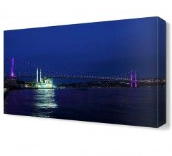 İstanbul Boğaz Köprüsü Canvas Tablo
