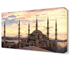 Sultanahmet Cami8 Canvas Tablo - Thumbnail