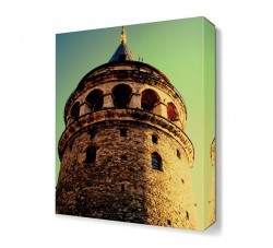 Dekorsevgisi - Tarihi Galata Kulesi Canvas Tablo (1)