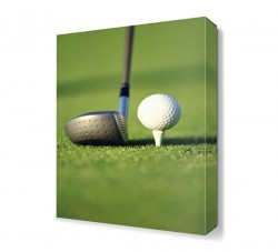 Dekorsevgisi - Golf Canvas Tablo (1)