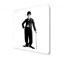 Dekorsevgisi - Charlie Chaplin Mustache Canvas Tablo (1)