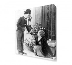 Dekorsevgisi - City Lights Charlie Chaplin Canvas Tablo (1)