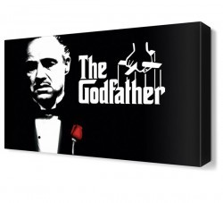 Dekorsevgisi - The Godfather Canvas Tablo (1)