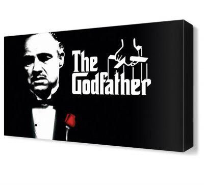 The Godfather Canvas Tablo