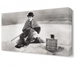 Dekorsevgisi - Charlie Chaplin2 Canvas Tablo (1)