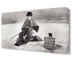 Charlie Chaplin2 Canvas Tablo