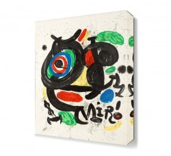 Dekorsevgisi - Joan Miro5 Canvas Tablo (1)