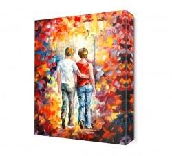 Dekorsevgisi - Genç Aşıklar Canvas Tablo (1)