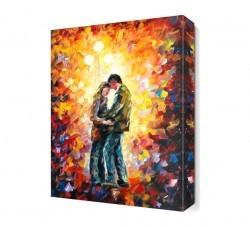 Dekorsevgisi - Sokakta Dans Canvas Tablo (1)
