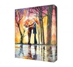 Dekorsevgisi - Şemsiyeli Çift Canvas Tablo (1)