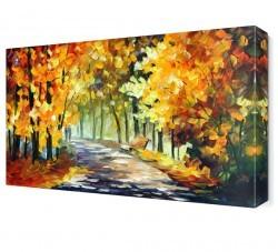 Dekorsevgisi - Yürüyen Aşıklar Canvas Tablo (1)