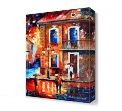 Dekorsevgisi - Komşularla Buluşma Canvas Tablo (1)