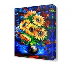 Dekorsevgisi - Ayçiçeği Canvas Tablo (1)