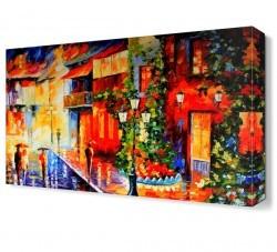 Dekorsevgisi - Eskiden Şehir Canvas Tablo (1)