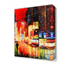 Dekorsevgisi - Ilık Yağmur Canvas Tablo (1)