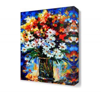 Çiçekler3 Canvas Tablo