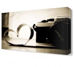 Dekorsevgisi - Fotoğraf Makinası Canvas Tablo (1)