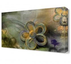 Dekorsevgisi - Yağlı Boya Çiçek Tablosu (1)
