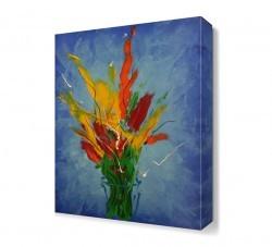 Dekorsevgisi - Yağlı Boya Çiçek2 Tablosu (1)