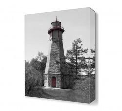 Dekorsevgisi - Gri Deniz Feneri Tablosu (1)